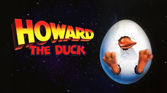 Netflix box art for Howard the Duck